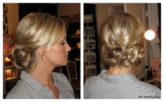 Oh Lovely Day®: {Planning Tips} Should You Wear Your Hair Up or Down?
