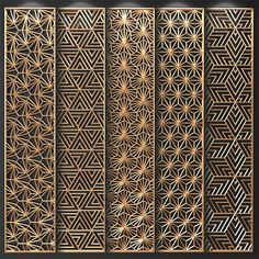 Contemporary Screens And Partition Partition 17433 Model available on CGmodelX, High quality Produced by Design Connected. Partition Design, Tv Wall Design, Ceiling Design, Door Design, Partition Screen, Pattern Wall, Art Deco Pattern, Laser Cut Panels, 3d Panels