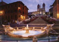 Que hacer al visitar la Plaza de España - http://www.absolutroma.com/al-visitar-la-plaza-espana/