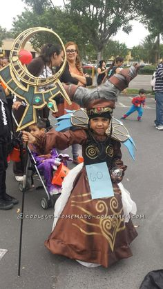 Power Rangers Villian Rita Repulsa Costume for a Girl... Coolest Halloween Costume Contest