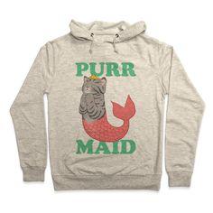 Purr Maid Hoodie | Look Human