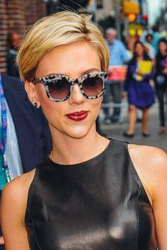 i ♥ Scarlett Johansson Pixie Hairstyles, Pixie Haircut, Cool Hairstyles, Scarlette Johanson Hair, Scarlet Johanson Short Hair, Short Hair Cuts, Short Hair Styles, Scarlett Johansson Hairstyle, Pelo Pixie