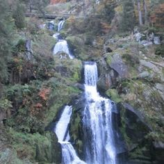 Triburg, Germany Waterfall