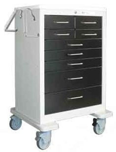 Help improve patient outcomes - bring all of your wound care supplies & instruments to the patient with a Split-Drawer Treatment Cart from PilgrimMedical.com