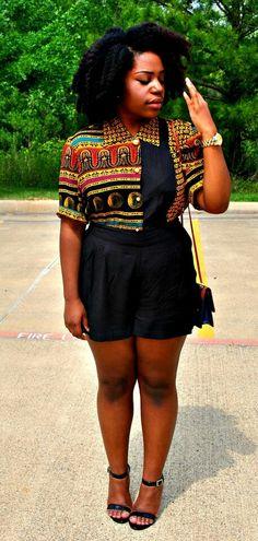 Afro-centric shirt