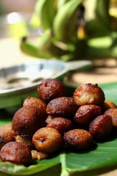 "Unniyappam is the traditional snack of Kerala.It's an unavoidable item in special occasions like Vishu and Onam and unniyappam has been the offering in many temples in Kerala as prasadam(food that has been offered to god). This delicious sweet rice fritters got its name from its size"" unni"" means s"
