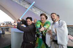 Obi Wan and Princess Leia