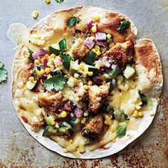 Chicken and Summer Vegetable Tostadas | CookingLight.com