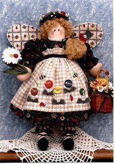 Summer Angel Fabric Soft Doll Pattern by PenelopesHopeChest, $4.95