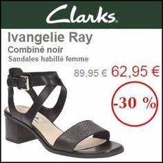 #missbonreduction; Remise de 30% sur les Sandales habillé femme Ivangelie Ray Combiné noir chez Clarks. http://www.miss-bon-reduction.fr//details-bon-reduction-Clarks-i853659-c1840981.html