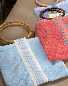 Hand-Towel Beach Bag - Martha Stewart Crafts