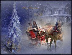 Digital Art, Xmas, Painting, Christmas, Painting Art, Navidad, Paintings, Noel, Painted Canvas