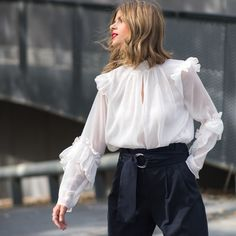 Ms Treinta - Blog de moda y tendencias by Alba. - Fashion Blogger -: romantic blouse