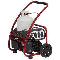 Powermate 3,250-Watt Gasoline Powered Manual Start Portable