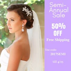 Provide brides the high quality handcrafted Swarovski bridal jewelry and accessories for their beautiful wedding day and keepsake memories. Bridal Bracelet, Bridal Necklace, Bridal Jewelry, Semi Annual Sale, Wedding Sash, Bridal Headpieces, Silk Flowers, Veil, Bride