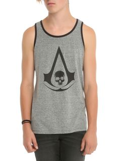 Assassin's Creed IV: Black Flag Logo Tank Top | Hot Topic
