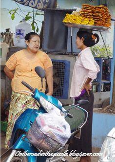Strong ladies in Myanmar