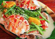 Ginataang Alimasag (Crabs In Coconut Milk)   Filipino Recipes, Dishes And Delicacies