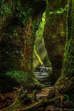 Púlpito del Diablo, Escocia