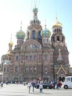 Church of the Savior on Spilled Blood, which is dedicated to the memory of Tsar Alexander II and was built on the spot where he was assassinated.