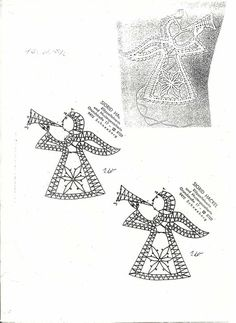 Kuvahaun tulos haulle bobbin lace Natal / Christmas Bobbin Lace Patterns, Bead Loom Patterns, Stitch Patterns, Hairpin Lace Crochet, Crochet Edgings, Crochet Motif, Crochet Shawl, Doily Art, Bobbin Lacemaking
