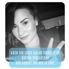 Tag your bestie heart emoticon   #wcw #demilovato #quotes #inspire #love #secretcolor
