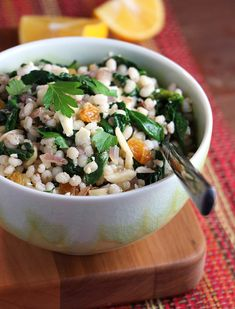 Pearl Barley with Sp