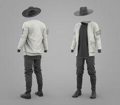 Marvelous Designer - Mens Collection  - Outfit #1, Travis Davids on ArtStation at https://www.artstation.com/artwork/3Dx9m