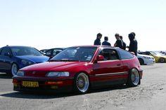 Slammed Honda CRX on BBS RS' #CRX #Honda #Rvinyl =========================== http://www.rvinyl.com/Honda-Accessories.html