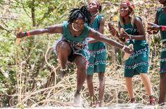 Dancers in Banjul, The Gambia