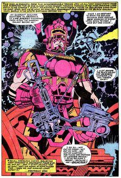 Thor 134 Galactus splash page Kirby 1966