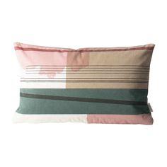 Small Color Block Cushion 1 design by Ferm Living Modern Throw Pillows, Designer Throw Pillows, Contemporary Decorative Pillows, Geometric Throws, Burke Decor, Animal Pillows, Color Blocking, Colour Block, Cushions