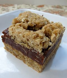 """Oatmeal Fudge Bars are amazingly good. I just made these and moved the post from my """"recipes I gotta try soon"""" to this board."""