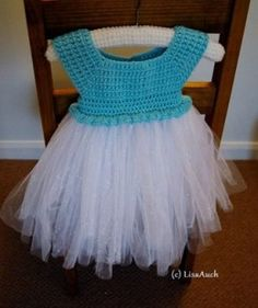 Create a fabulous BABY tutu Elsa Inspired dress for the younger ones.