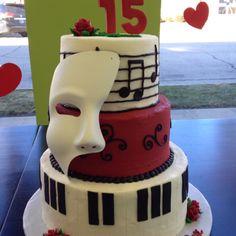phantom of the opera cakes | Phantom Of The Opera Cakes With Love Picture