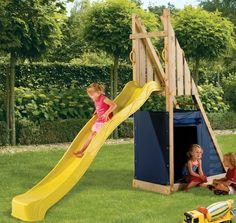 Blue Rabbit Freeslide Glijbaan voor € 243,00 - Speeltoestellen Land, houten tuin speeltoestellen kopen