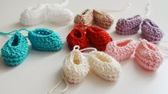 Baby Shower Gifts For Guests, Baby Shower Favors, Baptism Party Favors, Christening, Mini, Crochet Earrings, Applique, Baby Shoes, Booty