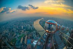 Top of Guangzhou, China