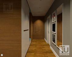 HOL - fornir motywem przewodnim. - zdjęcie od TU Design - Hol / Przedpokój - Styl Nowoczesny - TU Design