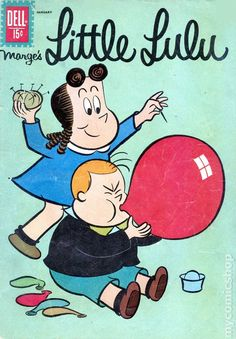Little Lulu - Published January 1962 by Dell/Gold Key. Best Comic Books, Vintage Comic Books, Vintage Comics, Classic Comics, Classic Cartoons, Funny Toons, Children's Comics, Saturday Morning Cartoons, Cartoon Shows