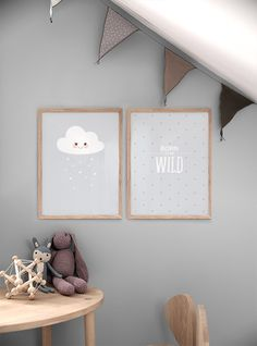 Children's room inspiration | Picture walls with kids posters | Desenio