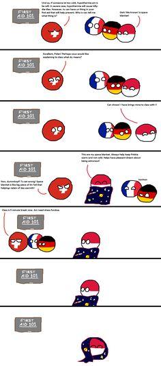Polandball Funny Cartoons, Funny Memes, Hilarious, Space Blanket, Life Moments, Fun Comics, Fandoms, In This Moment, Humor
