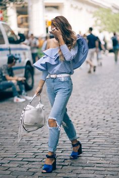 The Easiest Hack For Putting Together A Killer Outfit #refinery29 http://www.refinery29.com/monochromatic-outfit-trend#slide-8