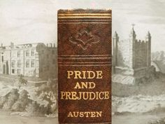 Pride and Prejudice vintage book by Jane Austen by EAGERforWORD, £45.00