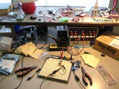 The equipment you need to get started in building electronics.  If you look back through the last two years of  posts on this blog, you'll s...