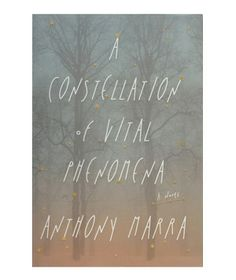 "A Constellation of Vital Phenomena, by Anthony Marra  ""This haunting, unforgettable novel about an orphaned 8-year-old girl, the neighbor who rescues her, and the bitter female doctor who hides her is set in Chechnya over a few days in 2004, but manages to reveal that country's history as well as the characters' pasts and futures."""