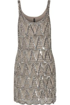 W118 by Walter Baker Elliot embellished tulle mini dress | THE OUTNET