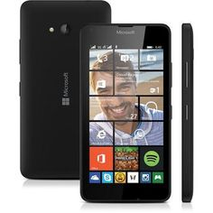 (Wal-Mart) Smartphone Microsoft Lumia 640 DTV Preto Dual Chip Windows Phone 8.1 Wi - Fi TV Digital Tela de 5 LUMIA 640 DTV 1198456 - de R$…