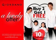 """A """"LOVELY"""" OFFER - Buy 2 Get 1 & Extra discount!!! مع عرضك المفضل بالإضافة للمزيد من التخفيضات لعملاء برنامج عالم بلا غرباء"""
