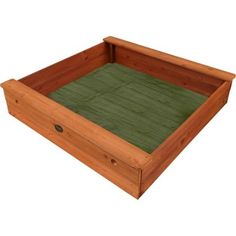 Plum Products Square Outdoor Play Wooden Sand Pit.